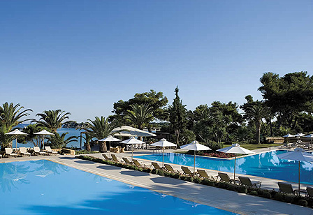 Sani Beach Club Pools