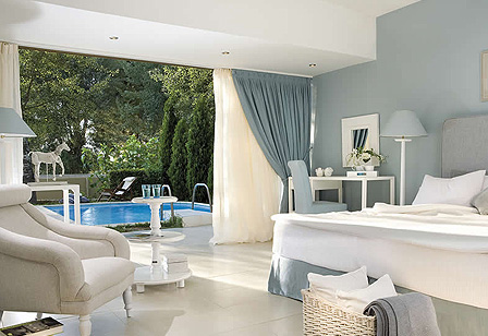 Sani Beach Club Junior Suite mit Privatpool