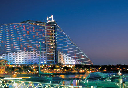 The Jumeirah Beach Hotel Hotelansicht