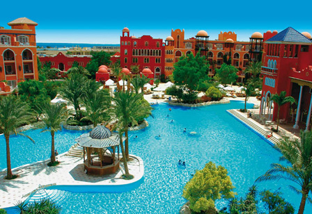 Grand Resort Hurghada Hotelanlage