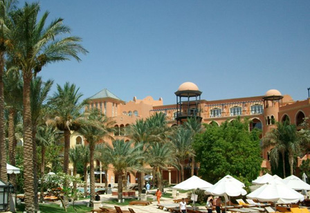 Grand Resort Hurghada Hotelansicht