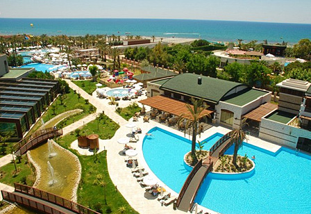 Sunis Kumköy Beach Resort und Spa Poolbereich